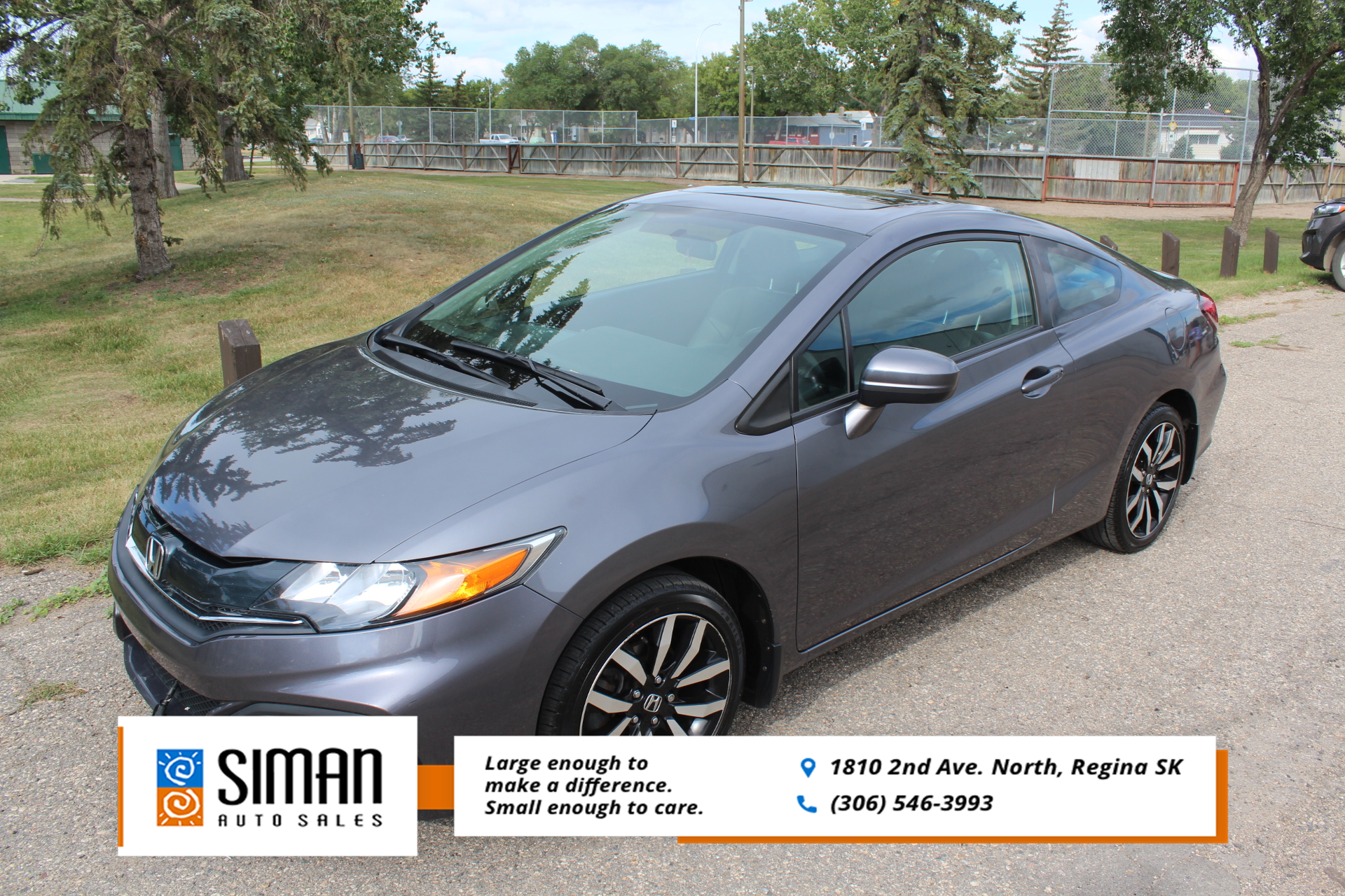 2014 Honda Civic Coupe EX-L with Nav