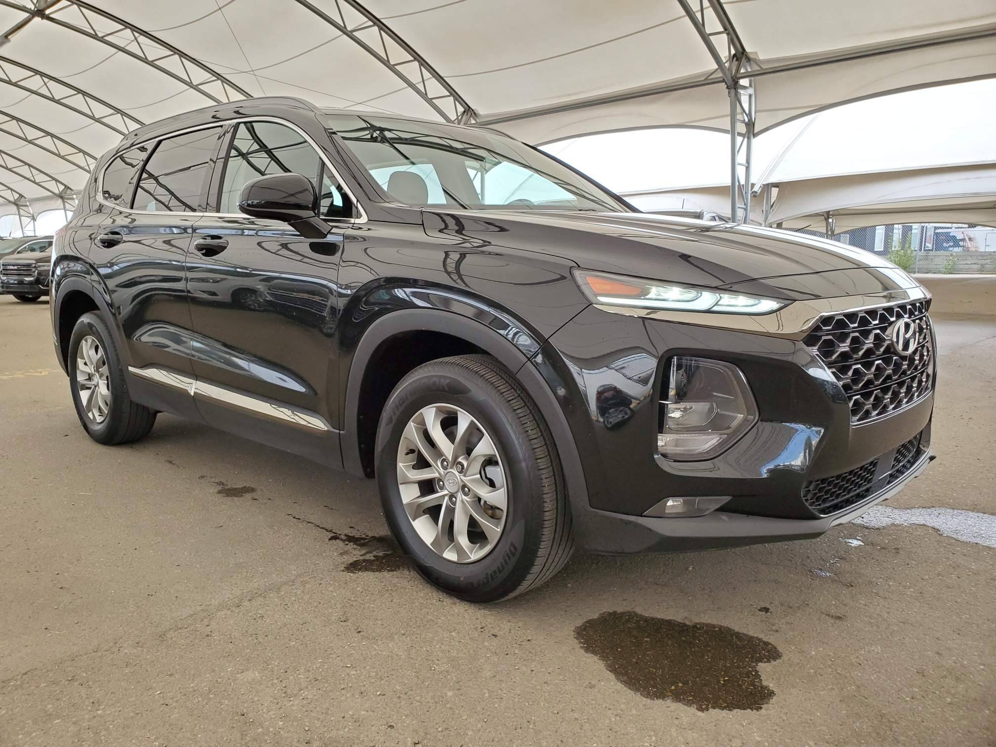 used 2019 Hyundai Santa Fe car, priced at $26,143