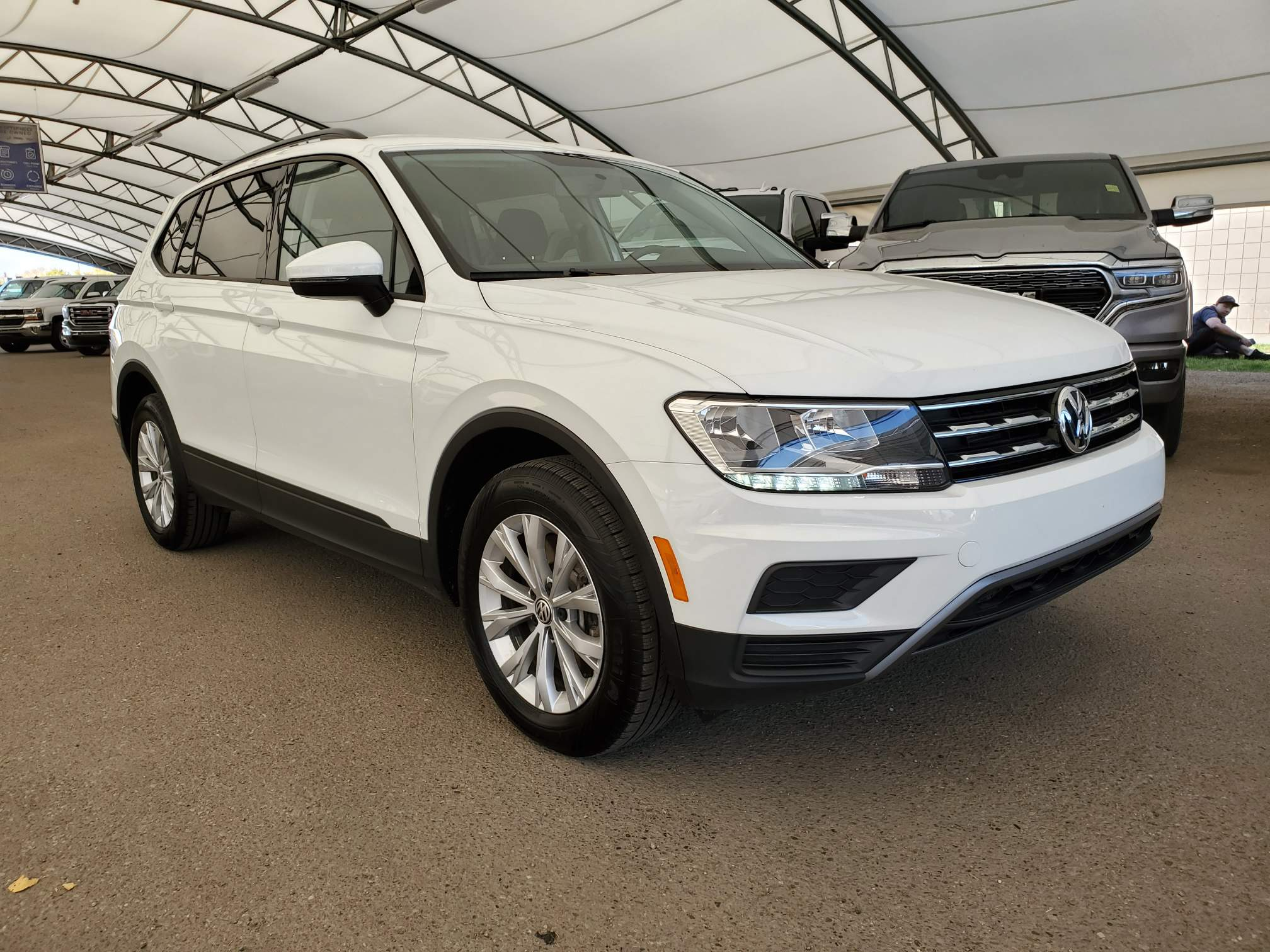 used 2019 Volkswagen Tiguan car, priced at $22,470