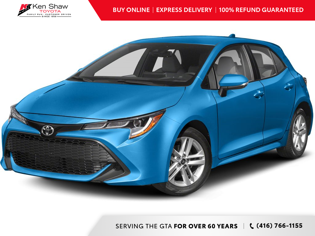 new 2020 Toyota Corolla Hatchback car, priced at $24,569