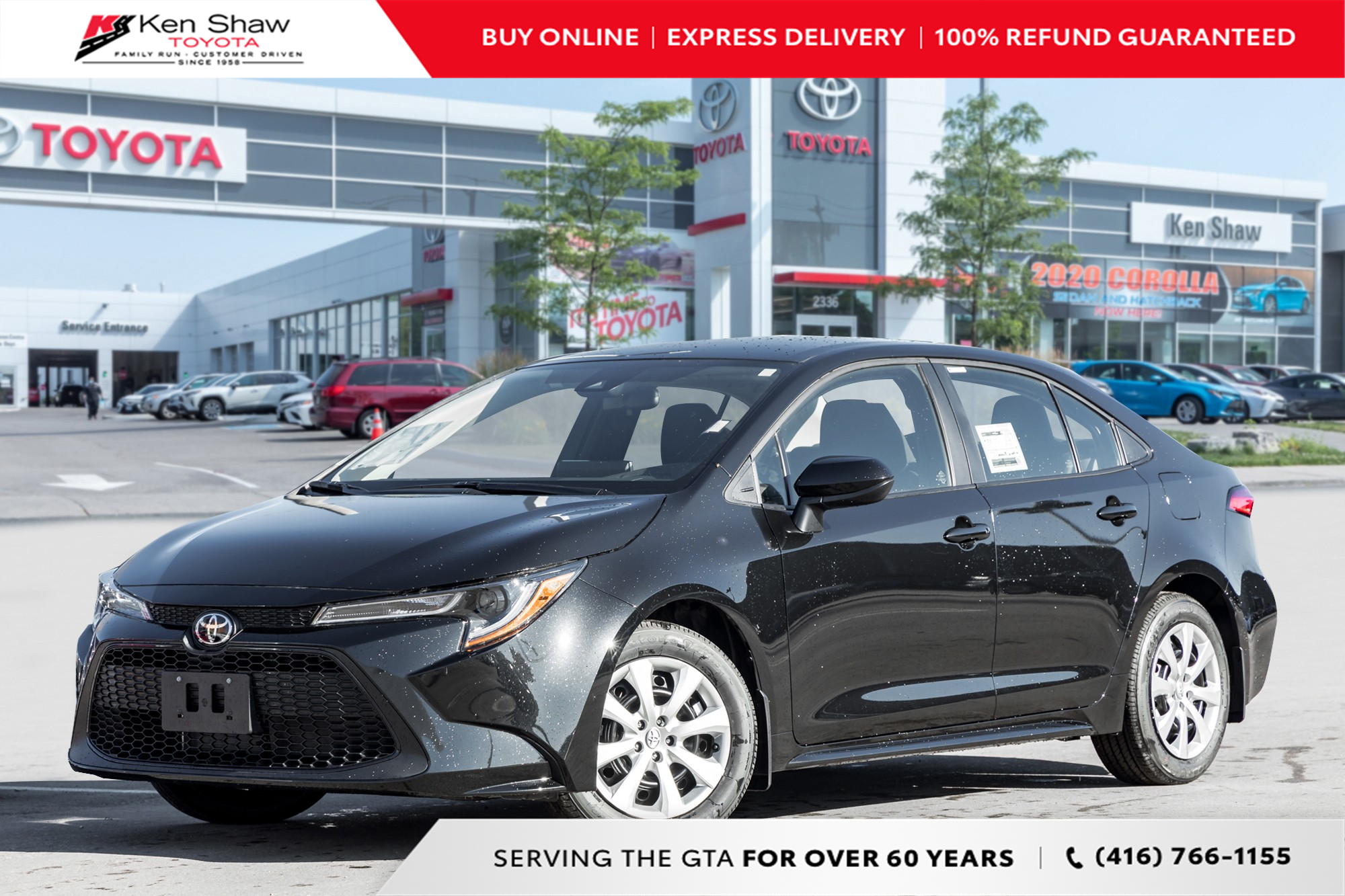 new 2021 Toyota Corolla car, priced at $24,338