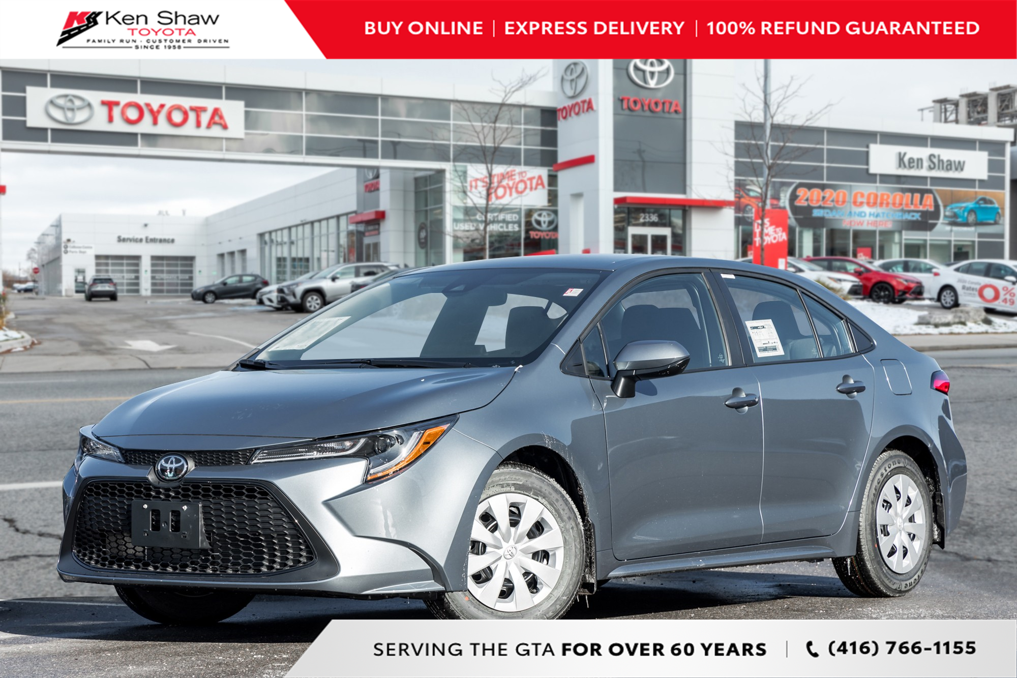 new 2021 Toyota Corolla car, priced at $23,398