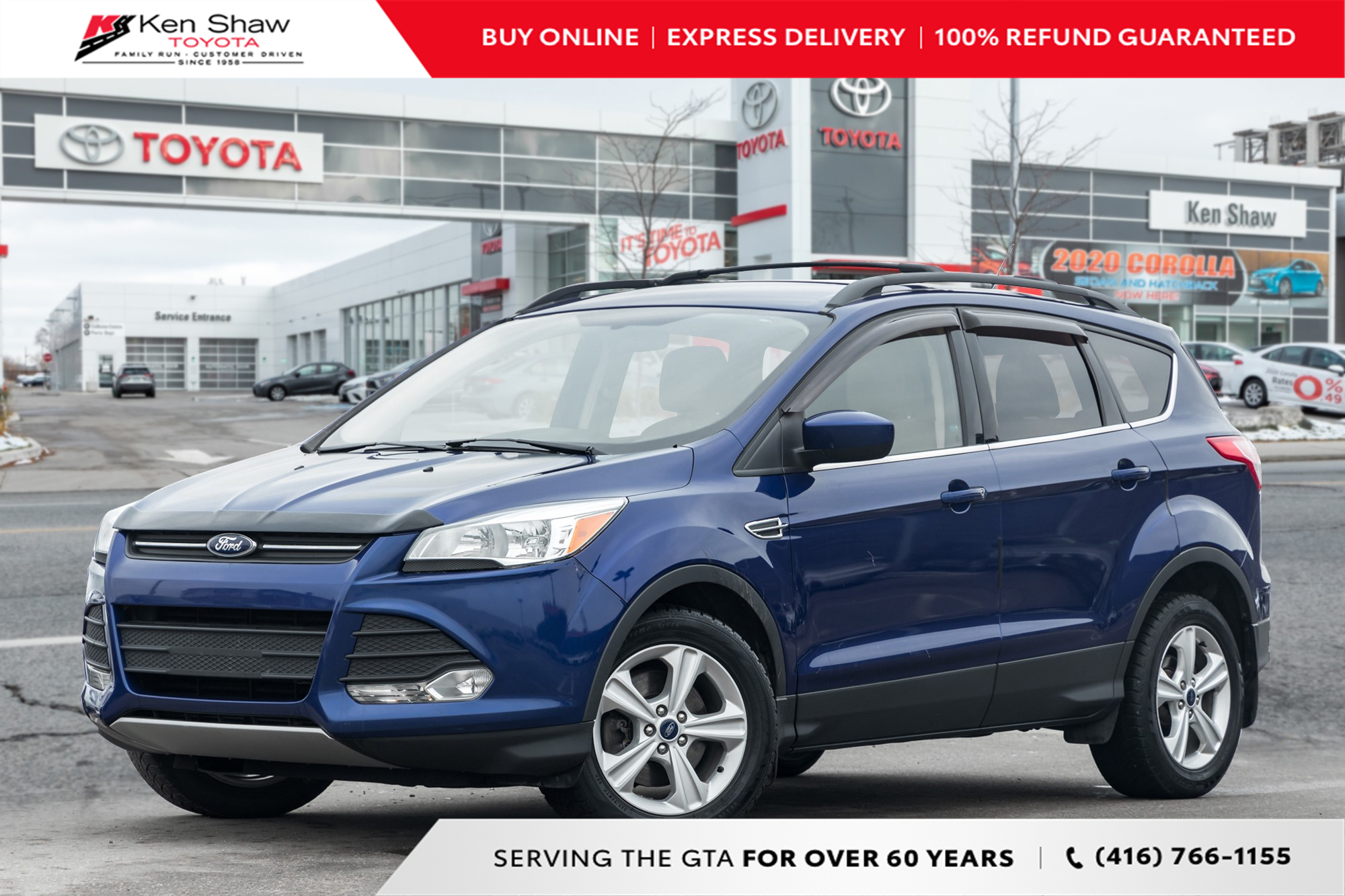 used 2015 Ford Escape car, priced at $9,488