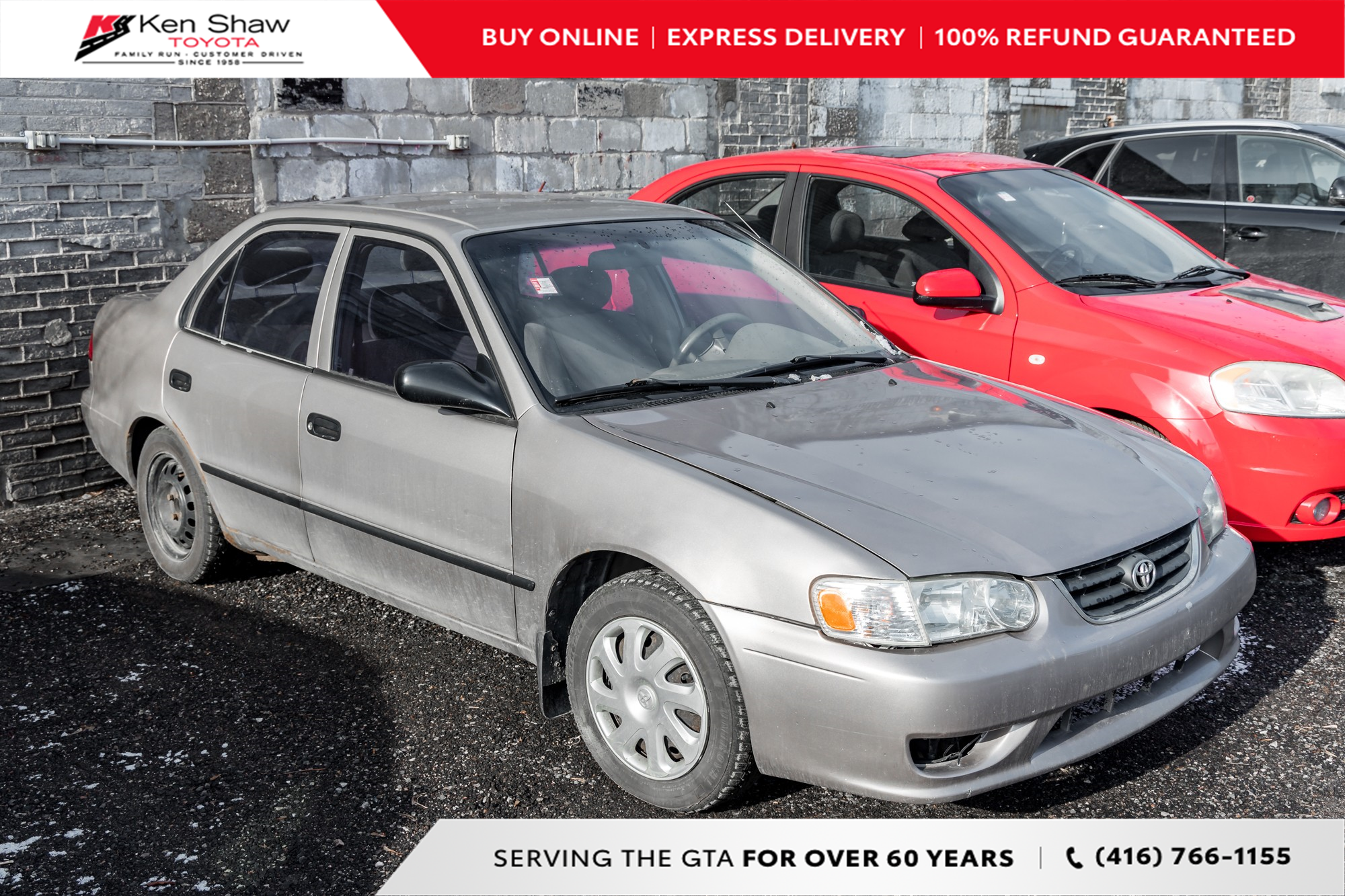 used 2002 Toyota Corolla car, priced at $2,295