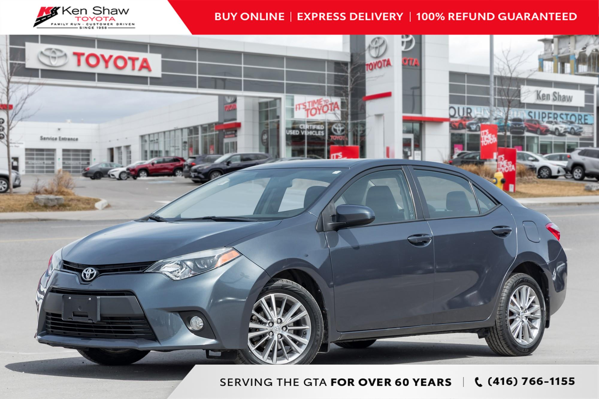 used 2014 Toyota Corolla car, priced at $9,688