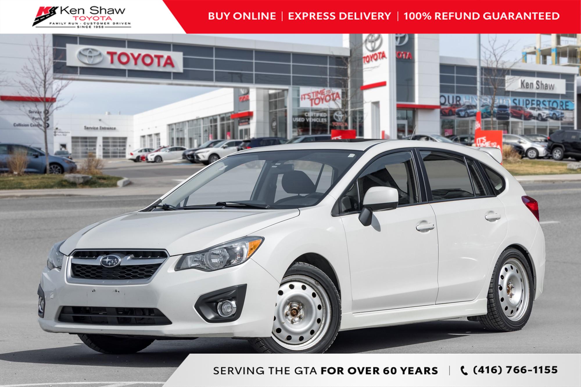 used 2012 Subaru Impreza car, priced at $9,688