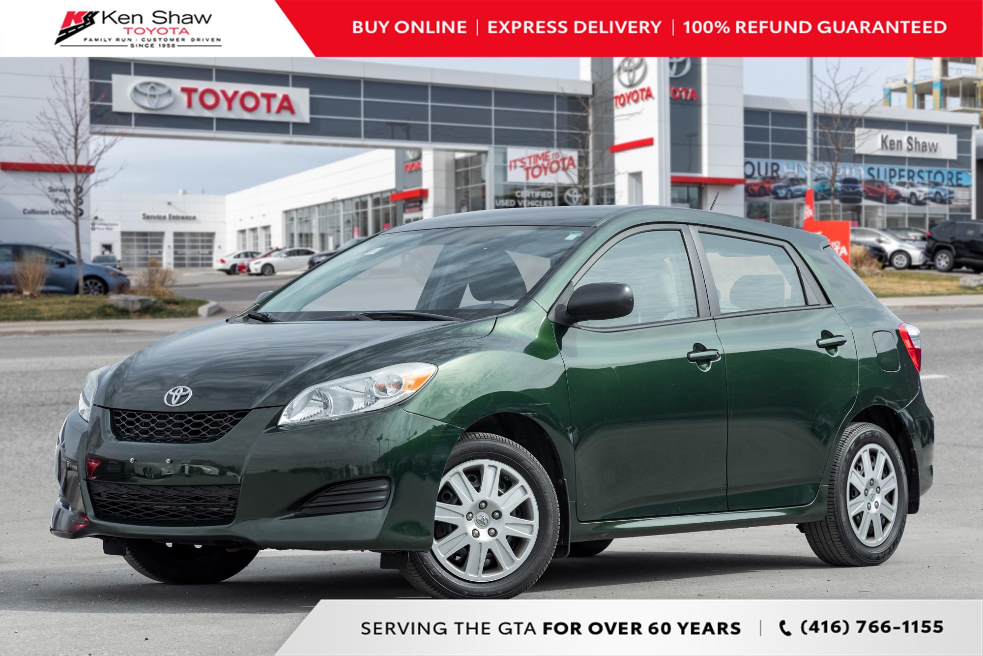 used 2011 Toyota Matrix car, priced at $9,995