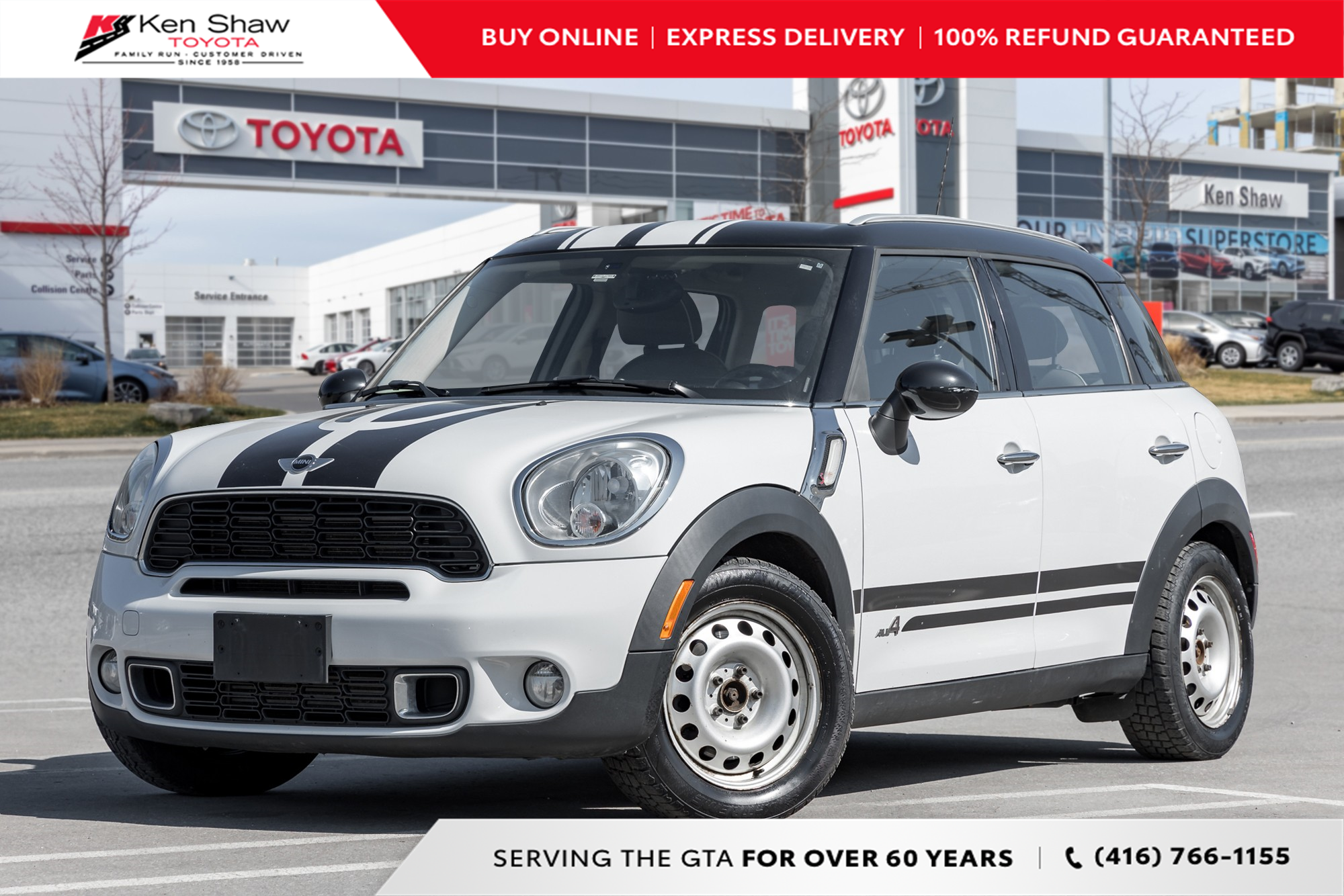 used 2012 MINI Cooper S Countryman car, priced at $6,995