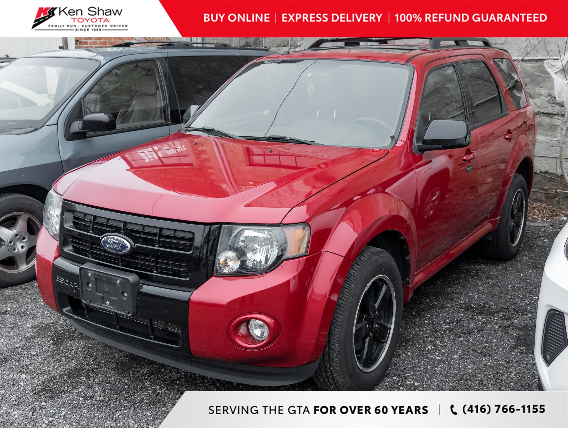 used 2010 Ford Escape car, priced at $5,995