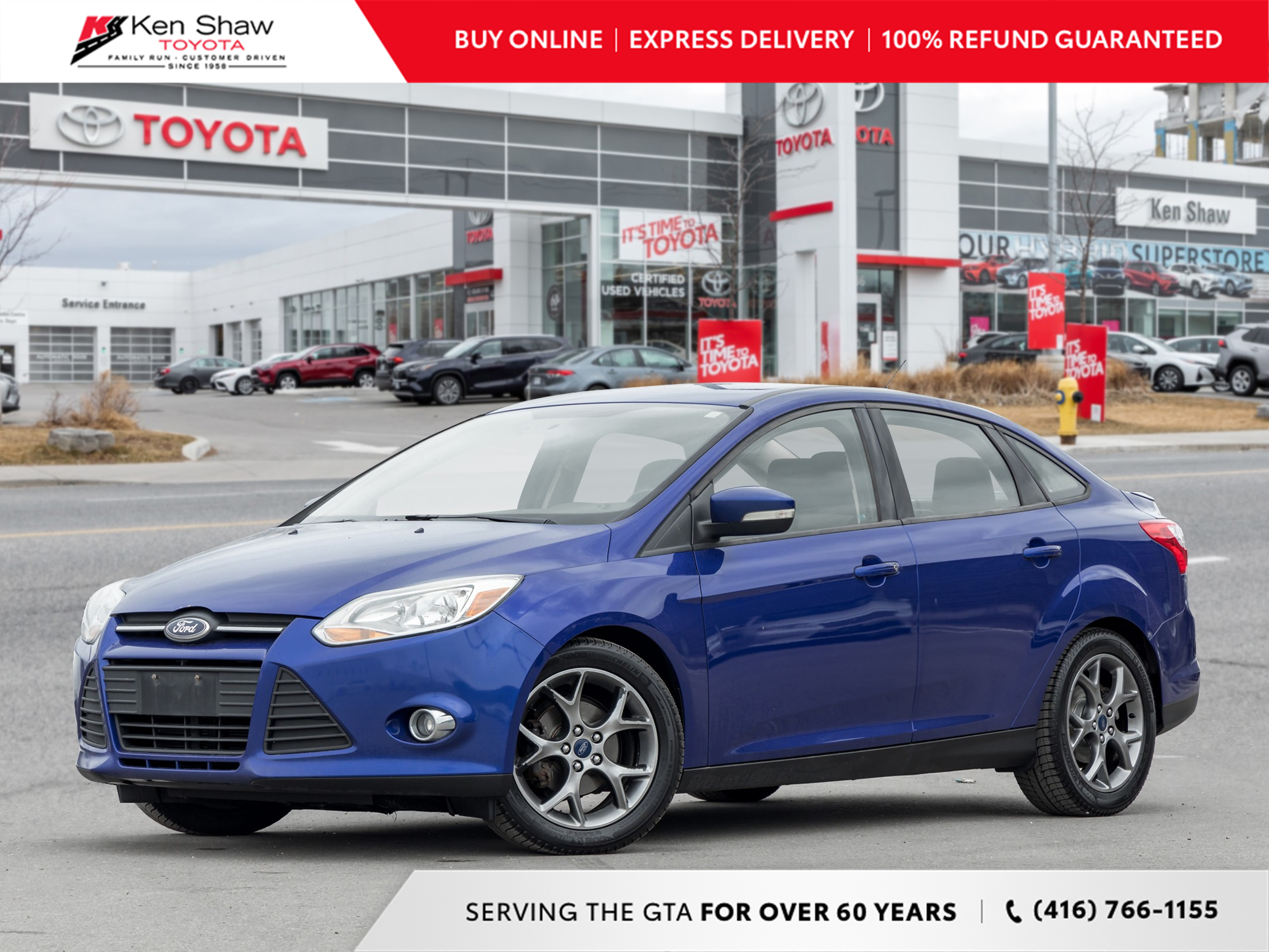 used 2014 Ford Focus car