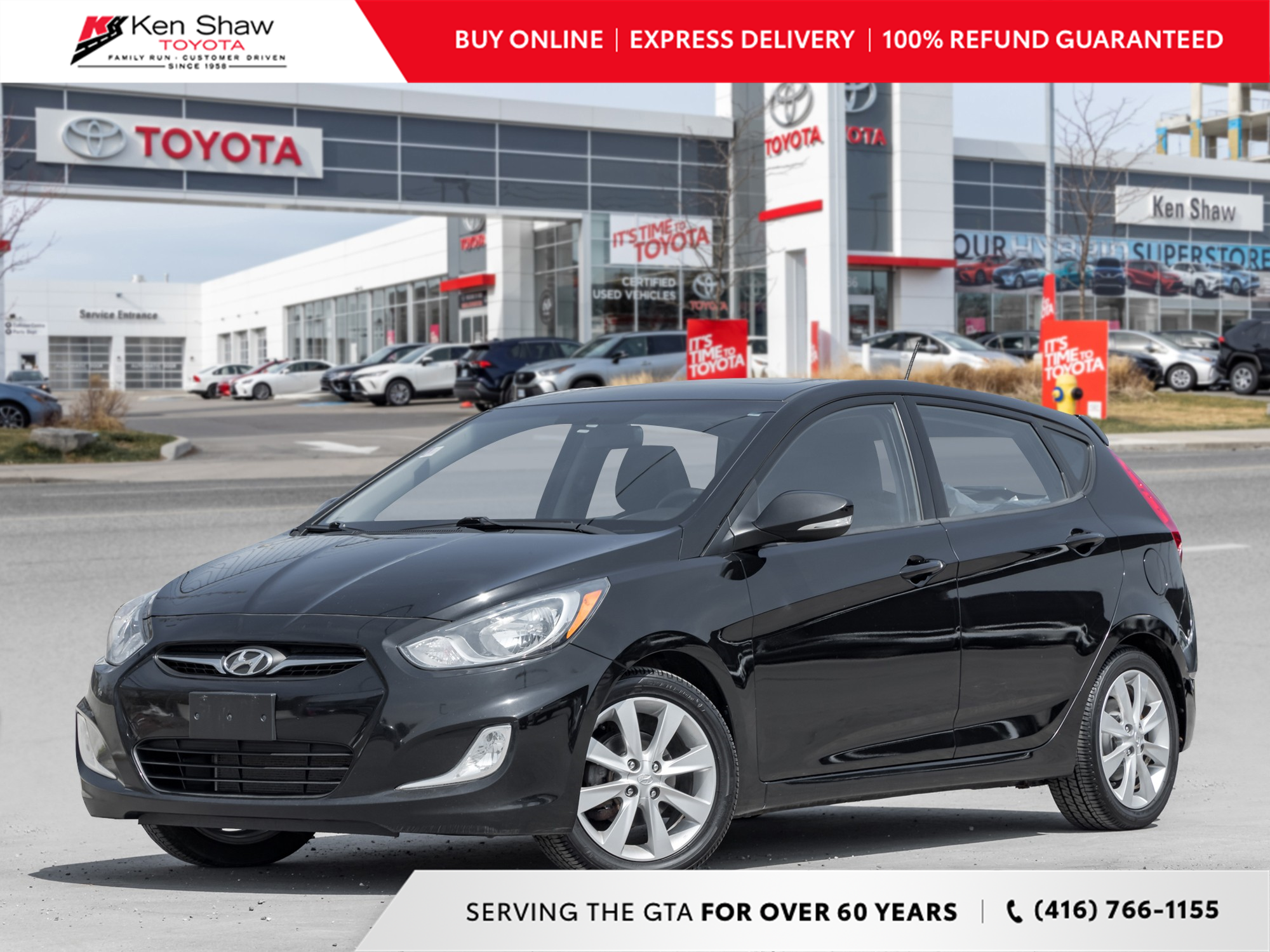 used 2012 Hyundai Accent car, priced at $5,995