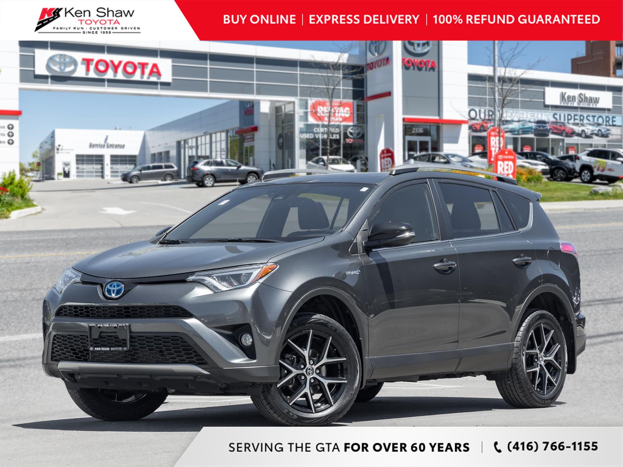 used 2017 Toyota RAV4 Hybrid car, priced at $27,495