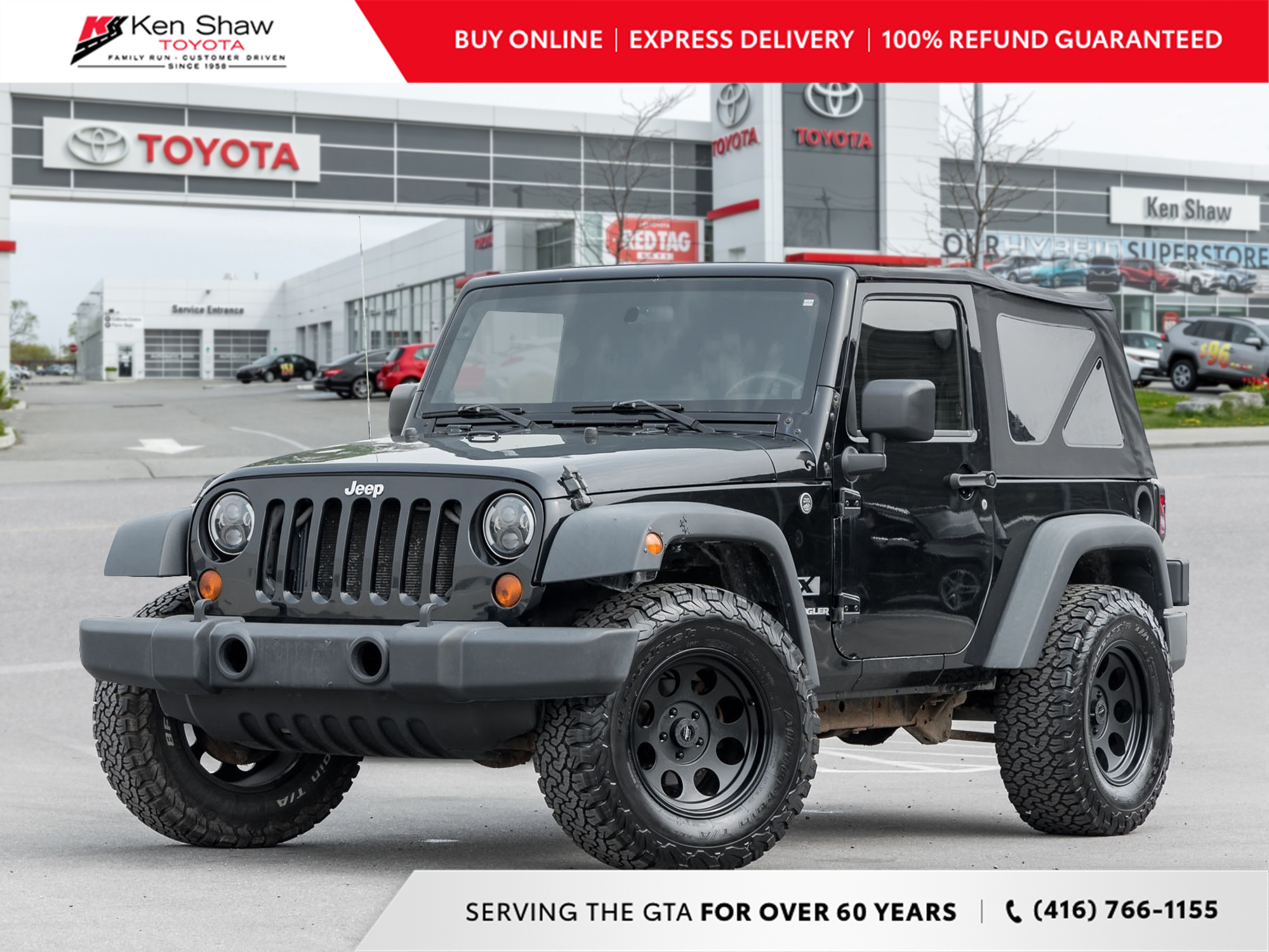 used 2009 Jeep Wrangler car, priced at $11,699