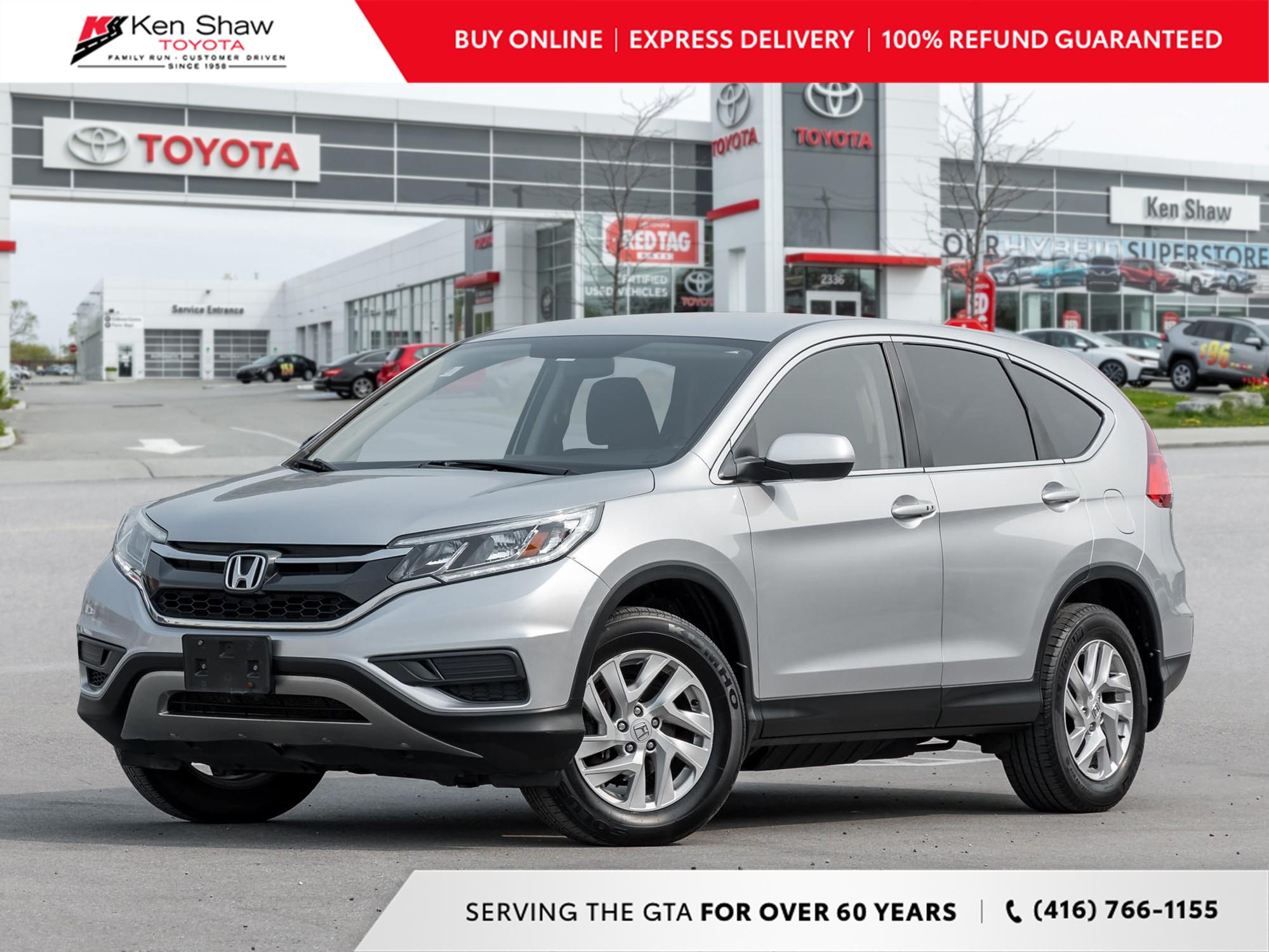 used 2015 Honda CR-V car, priced at $9,989