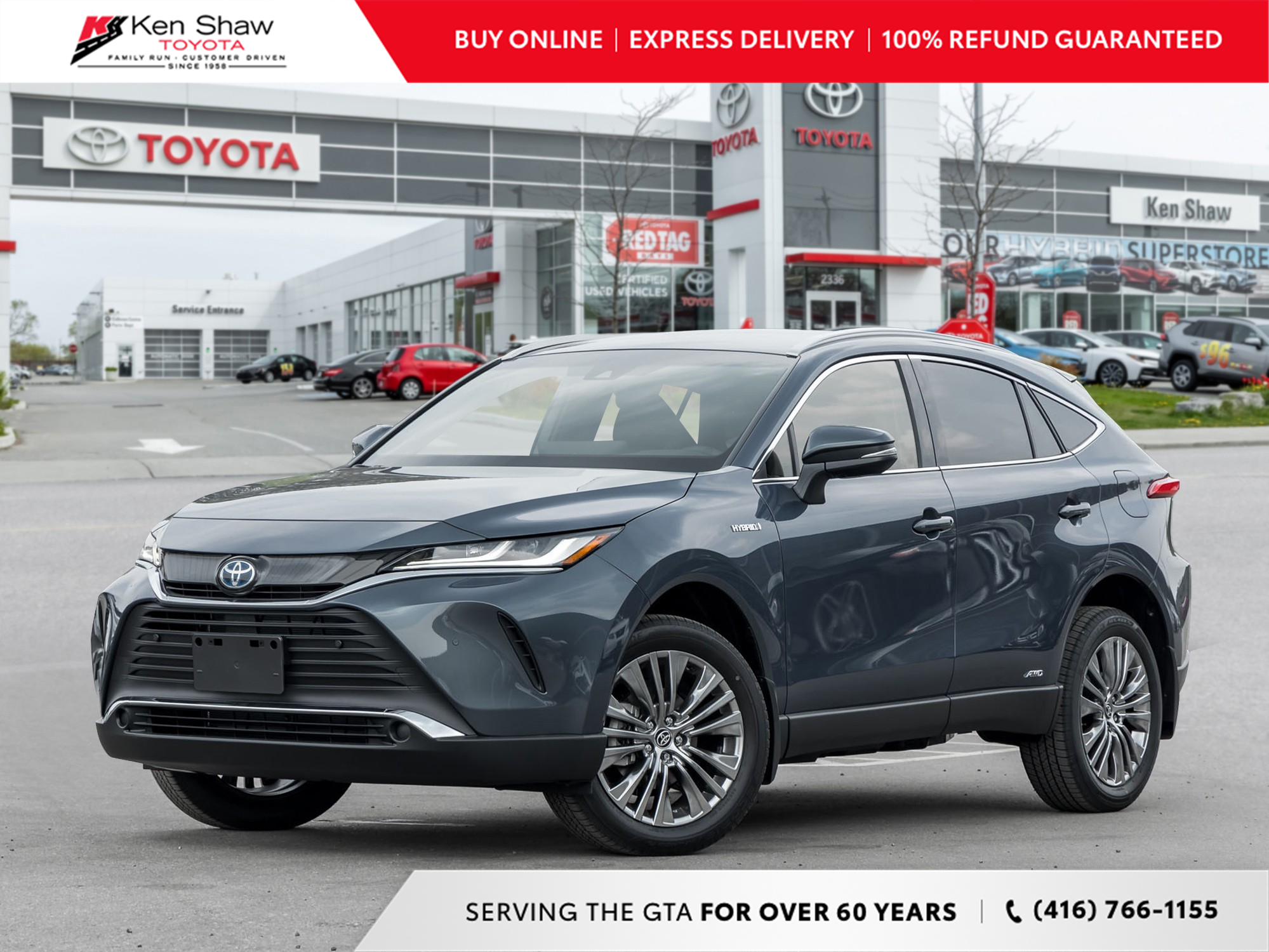 new 2021 Toyota Venza car, priced at $46,908