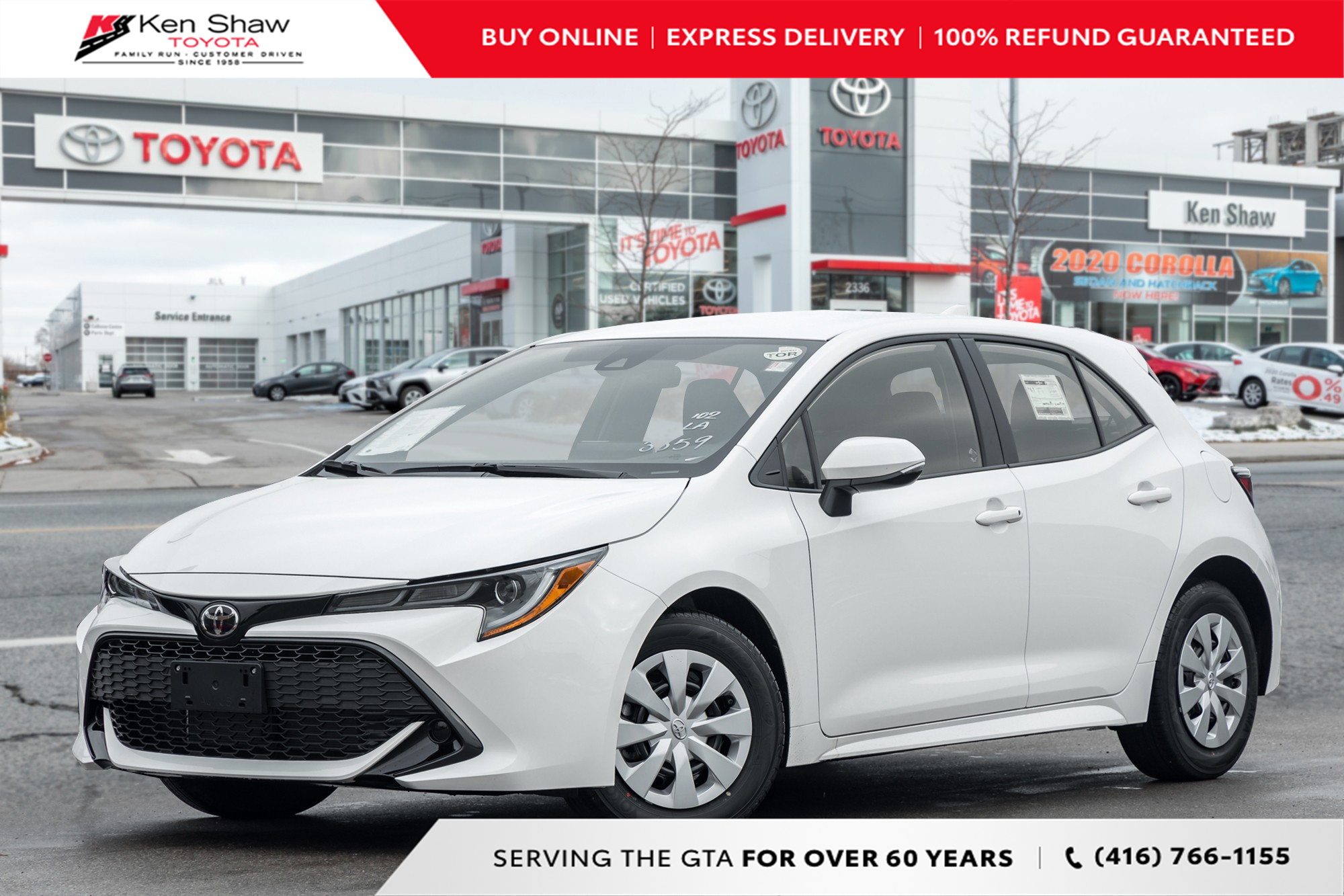 new 2022 Toyota Corolla Hatchback car, priced at $25,938