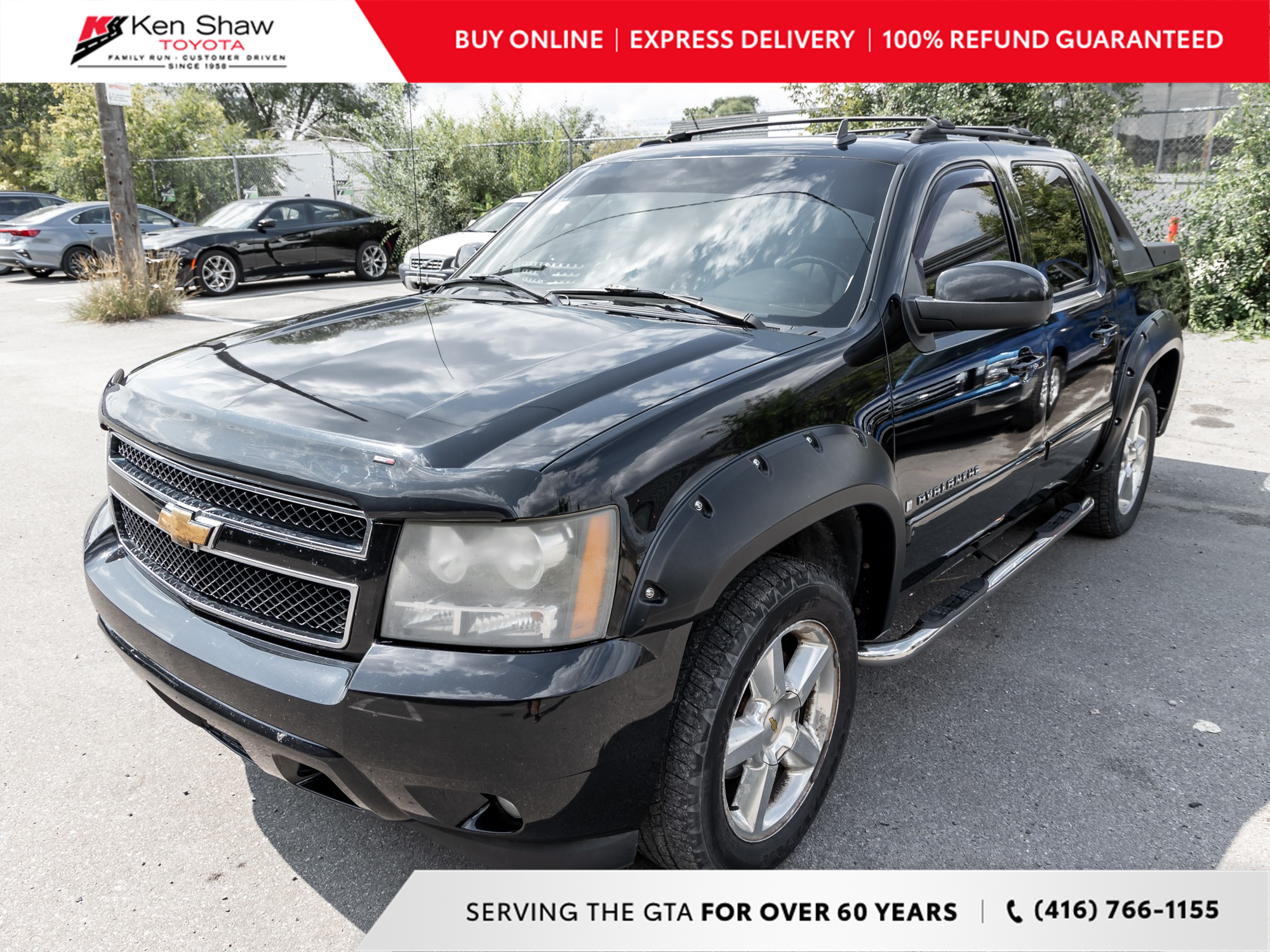 used 2007 Chevrolet Avalanche 1500 car, priced at $3,999