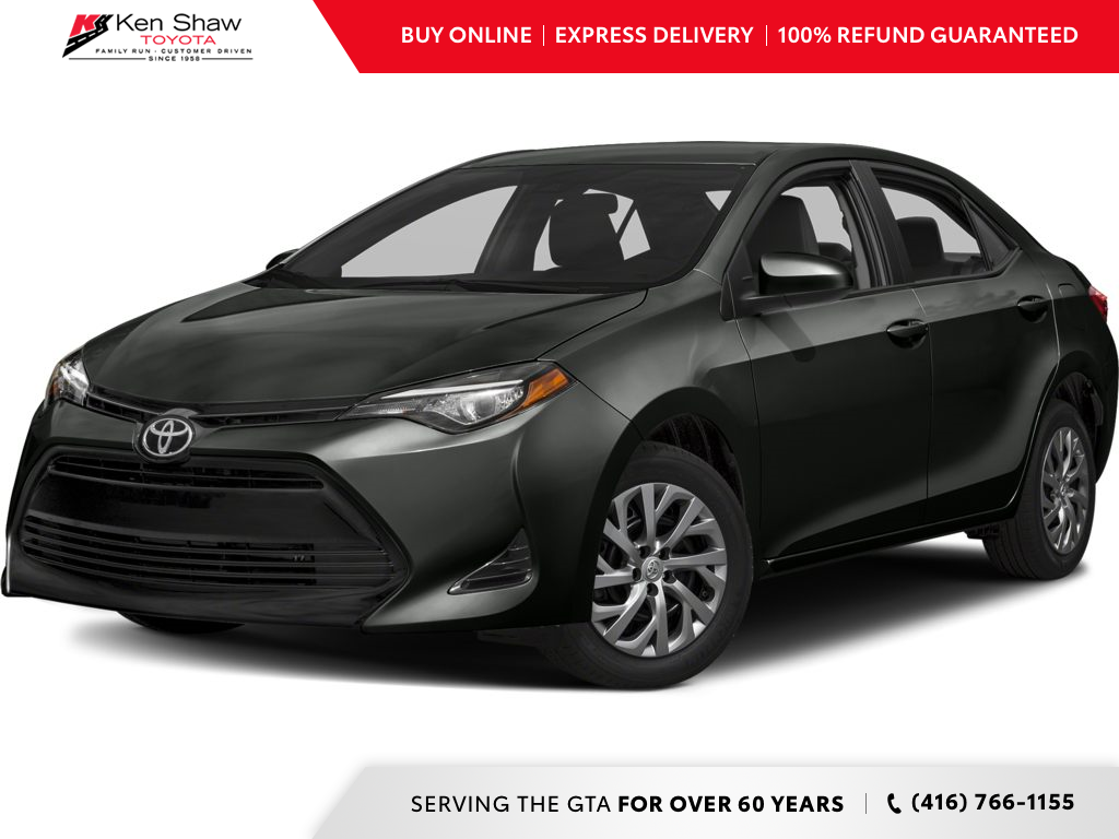 used 2017 Toyota Corolla car, priced at $15,688