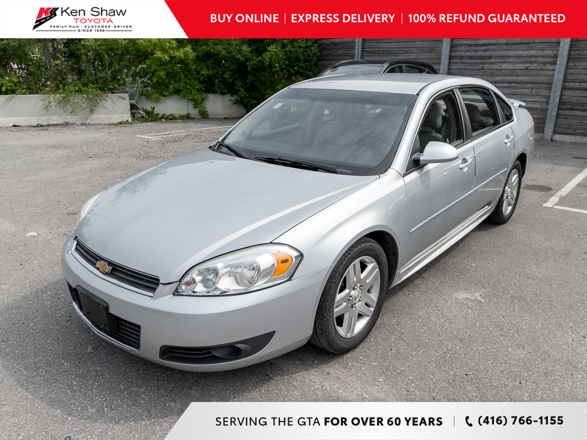 used 2010 Chevrolet Impala car, priced at $3,488