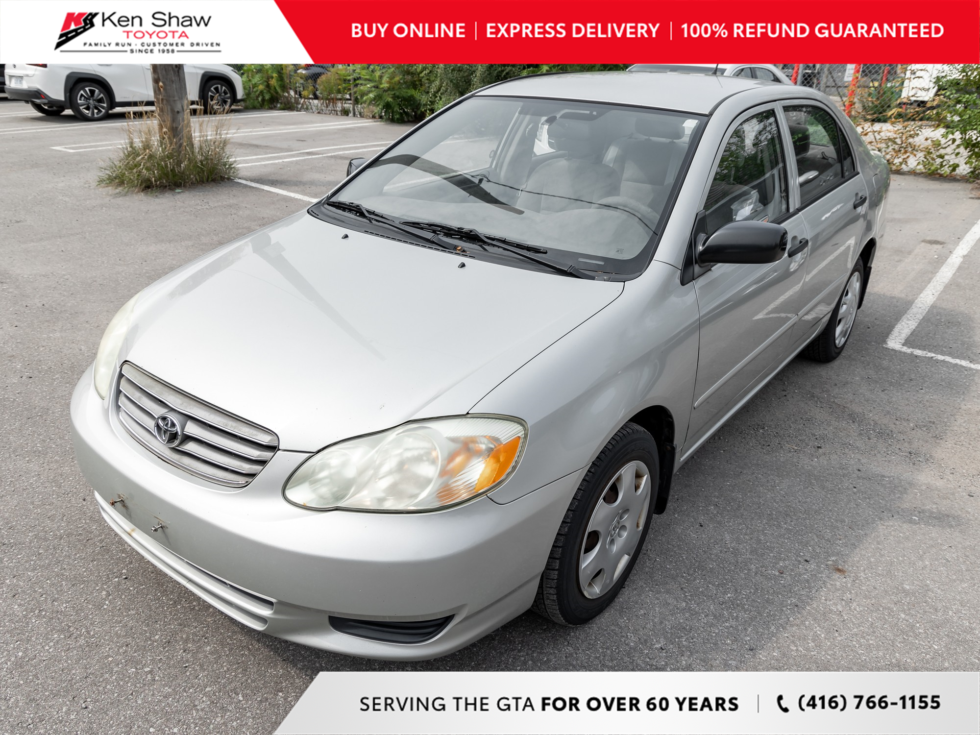 used 2004 Toyota Corolla car, priced at $3,499
