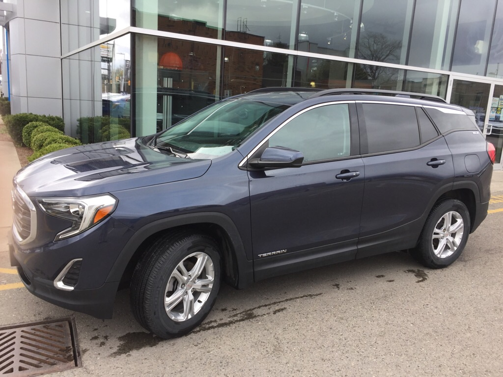 used 2018 GMC Terrain car, priced at $23,900