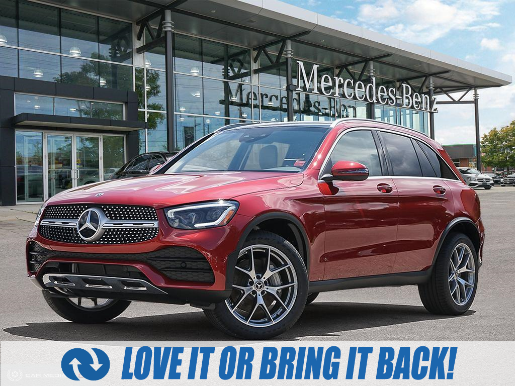 used 2020 Mercedes-Benz GLC 300 car, priced at $60,964