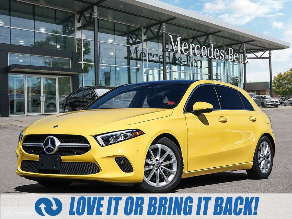 used 2020 Mercedes-Benz A-Class car, priced at $46,879