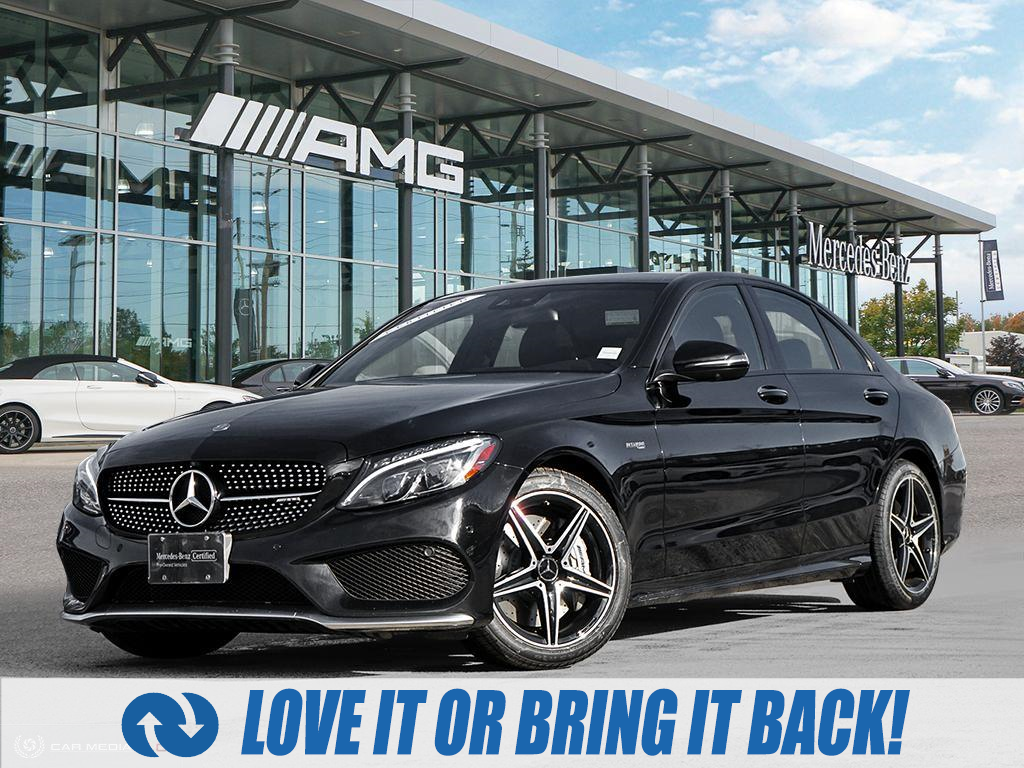 used 2017 Mercedes-Benz AMG C 43 car, priced at $41,588