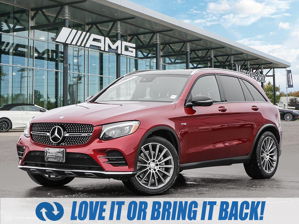 used 2017 Mercedes-Benz AMG GLC 43 car, priced at $46,815