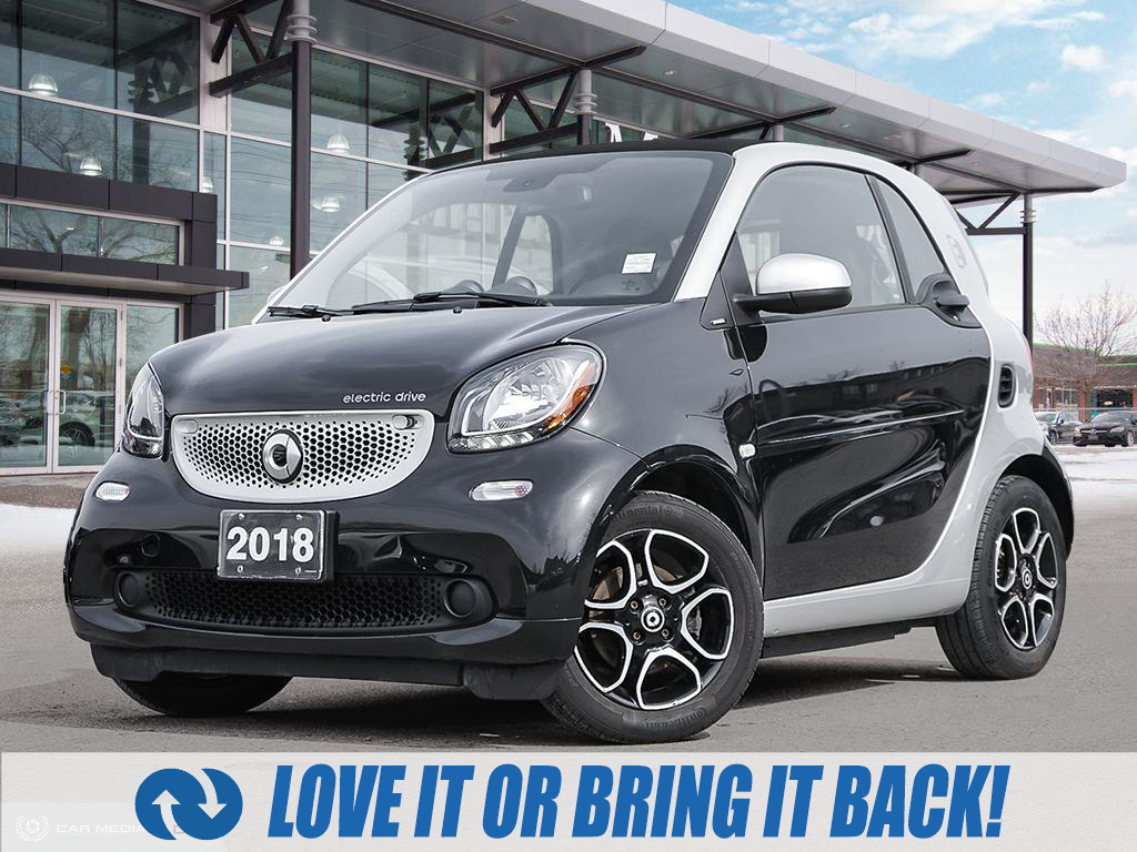 used 2018 smart ForTwo Electric Drive car, priced at $16,900