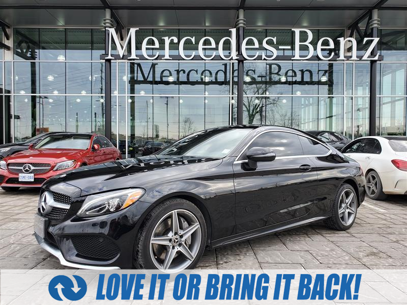 used 2017 Mercedes-Benz C-Class car, priced at $37,900