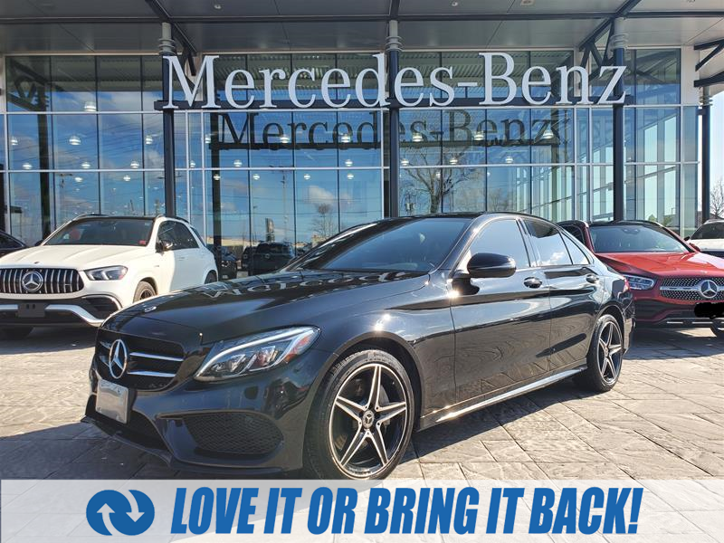 used 2018 Mercedes-Benz C-Class car, priced at $37,900