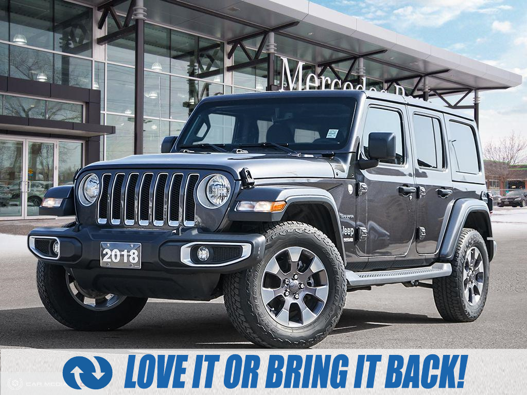 used 2018 Jeep Wrangler Unlimited car, priced at $46,900