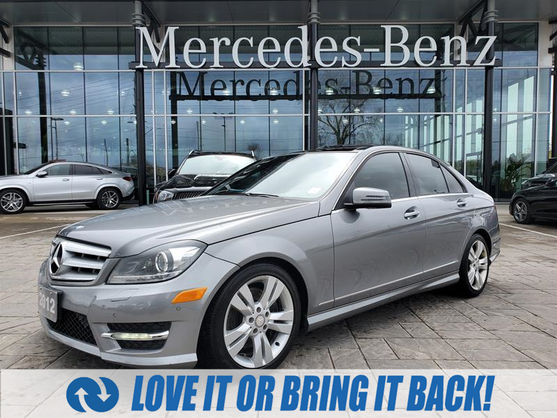 used 2012 Mercedes-Benz C-Class car, priced at $13,900