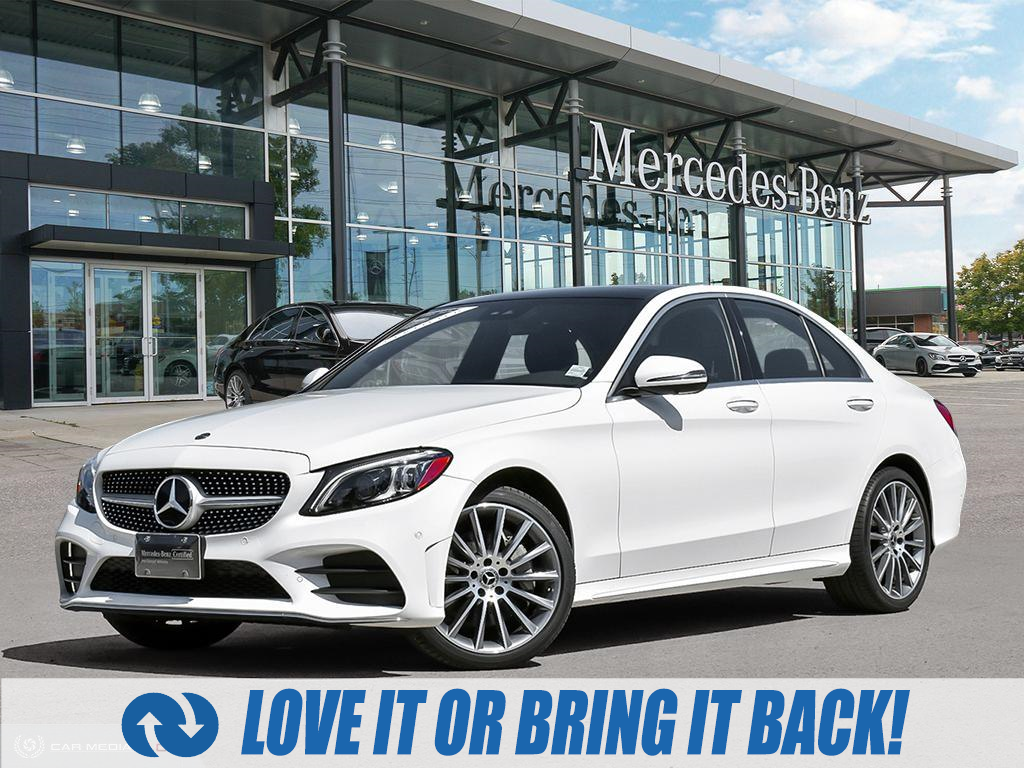 used 2020 Mercedes-Benz C-Class car, priced at $48,958