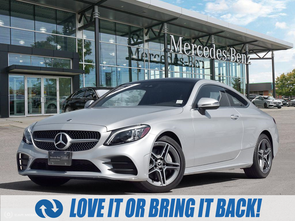 used 2019 Mercedes-Benz C-Class car, priced at $49,989