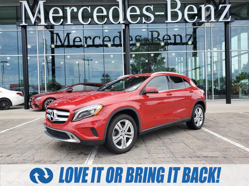 used 2016 Mercedes-Benz GLA-Class car, priced at $24,900