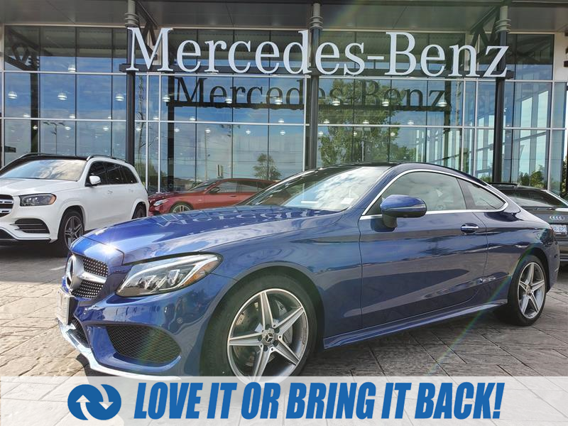 used 2018 Mercedes-Benz C-Class car, priced at $42,900