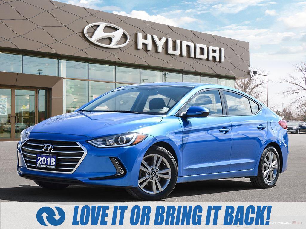 used 2018 Hyundai Elantra car, priced at $15,487