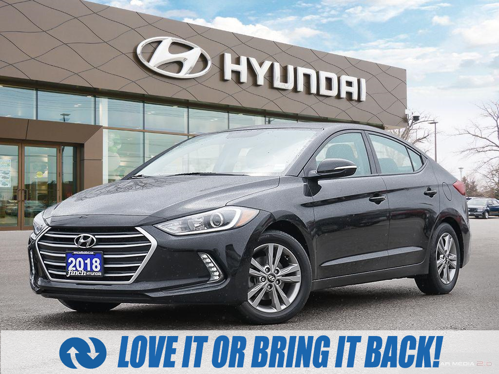 used 2018 Hyundai Elantra car, priced at $13,988