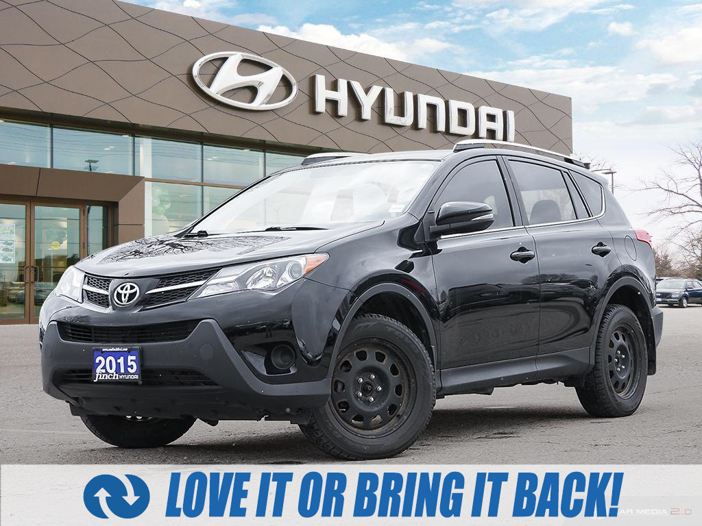 used 2015 Toyota RAV4 car, priced at $15,487