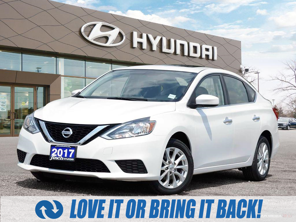 used 2017 Nissan Sentra car, priced at $14,487