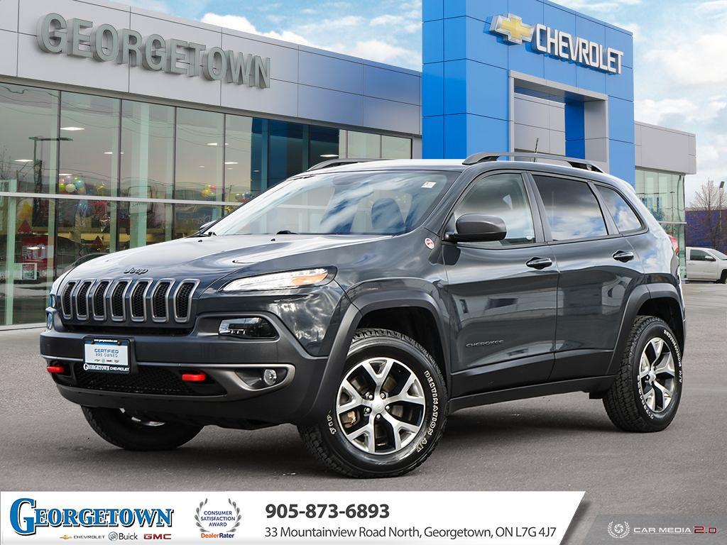 used 2017 Jeep Cherokee car, priced at $21,898