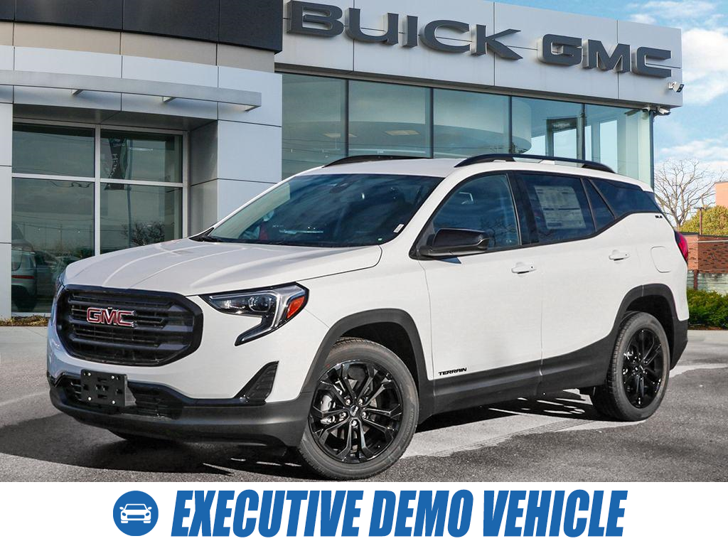 used 2021 GMC Terrain car, priced at $37,092