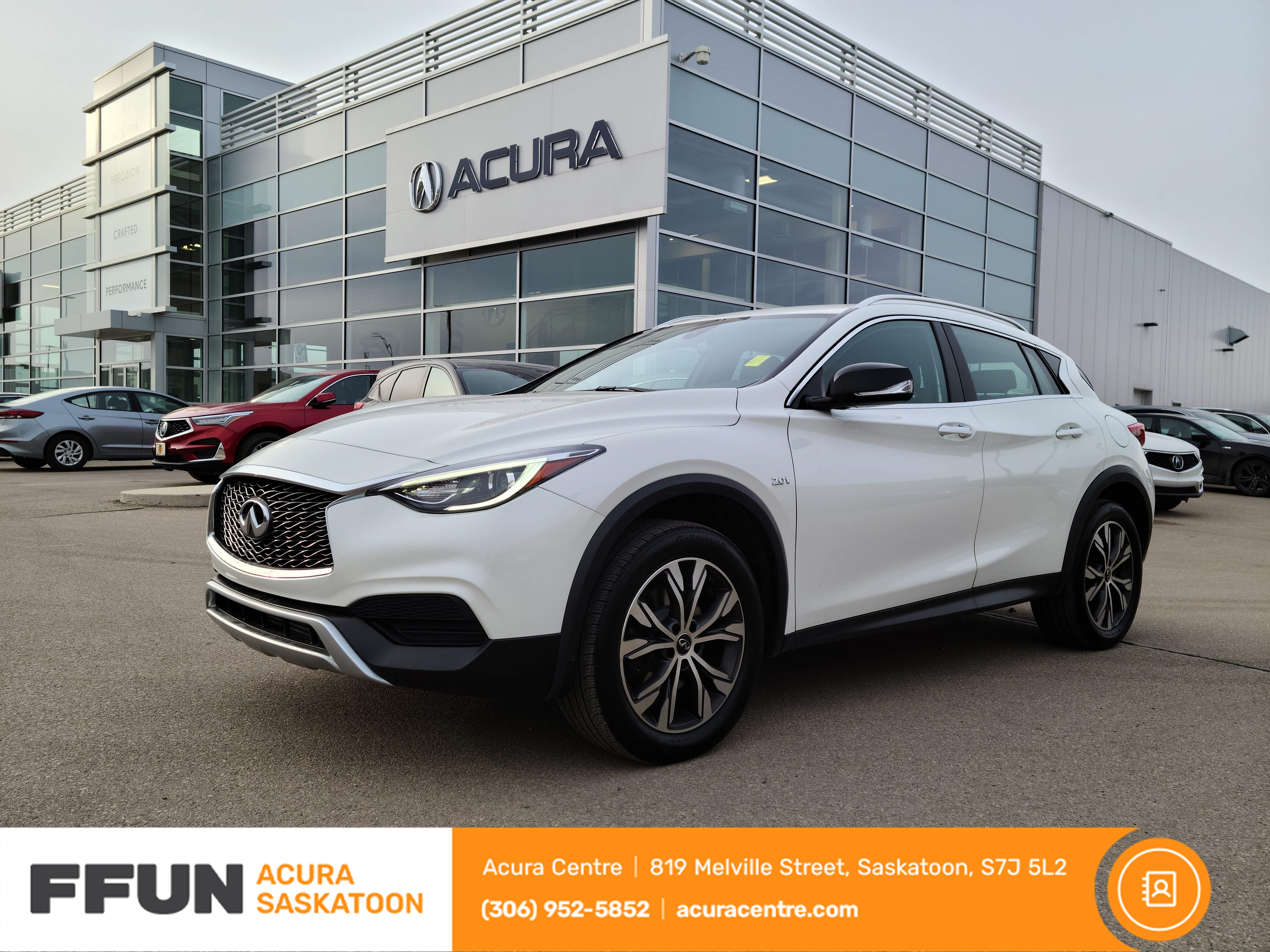 used 2017 INFINITI QX30 car, priced at $25,988