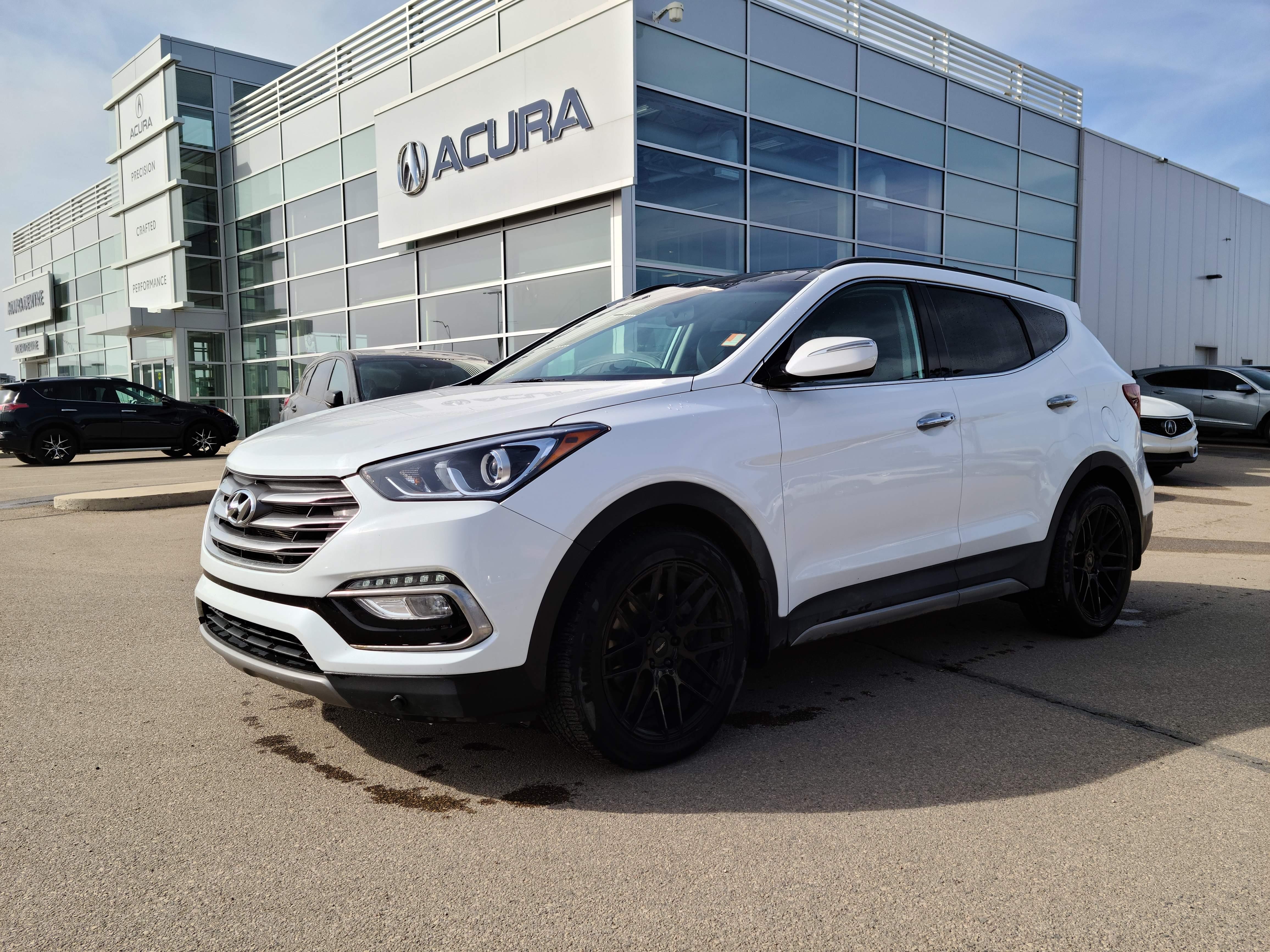 used 2018 Hyundai Santa Fe Sport car, priced at $28,960