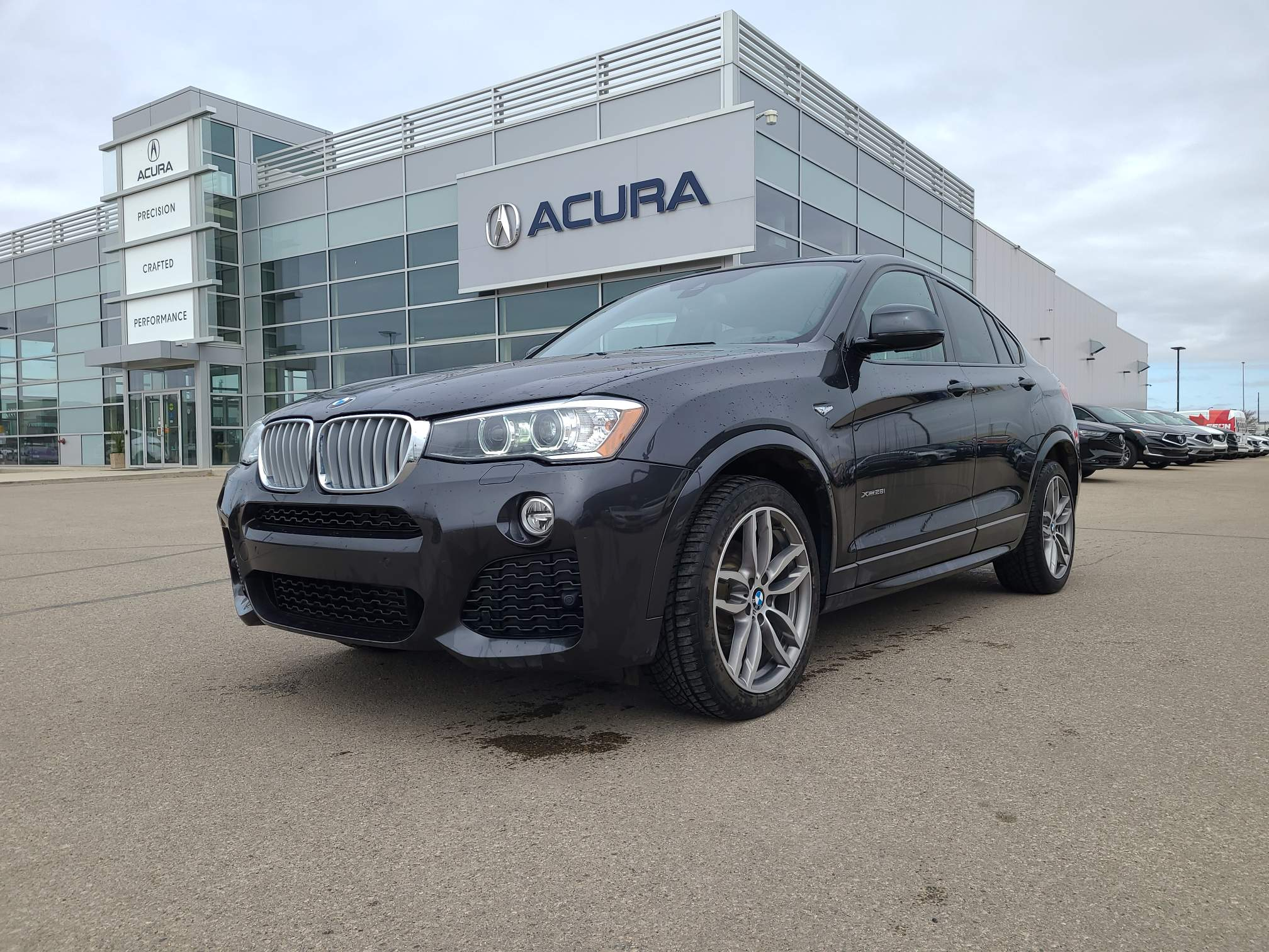 used 2017 BMW X4 car, priced at $34,590
