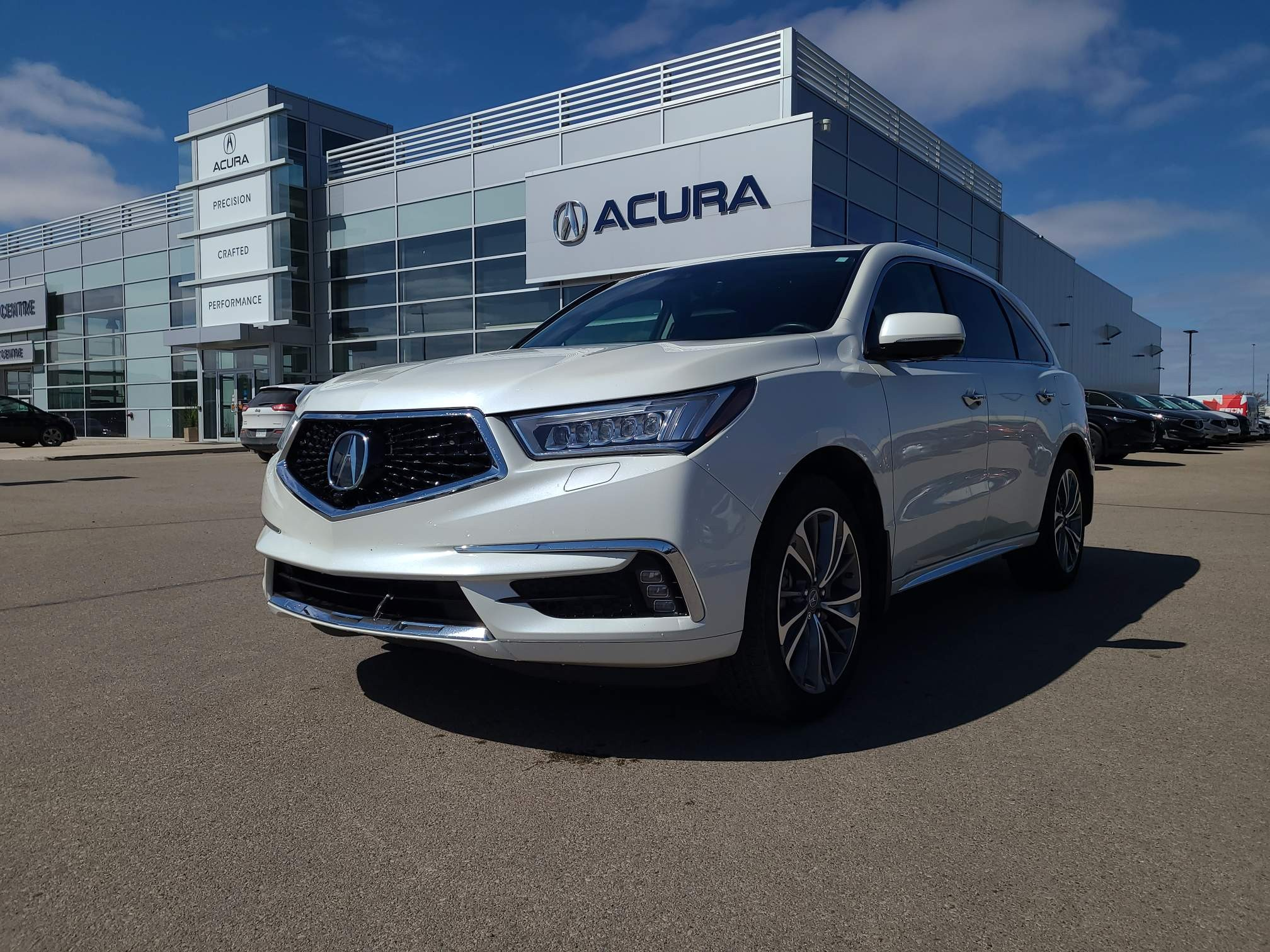 used 2017 Acura MDX car, priced at $31,963