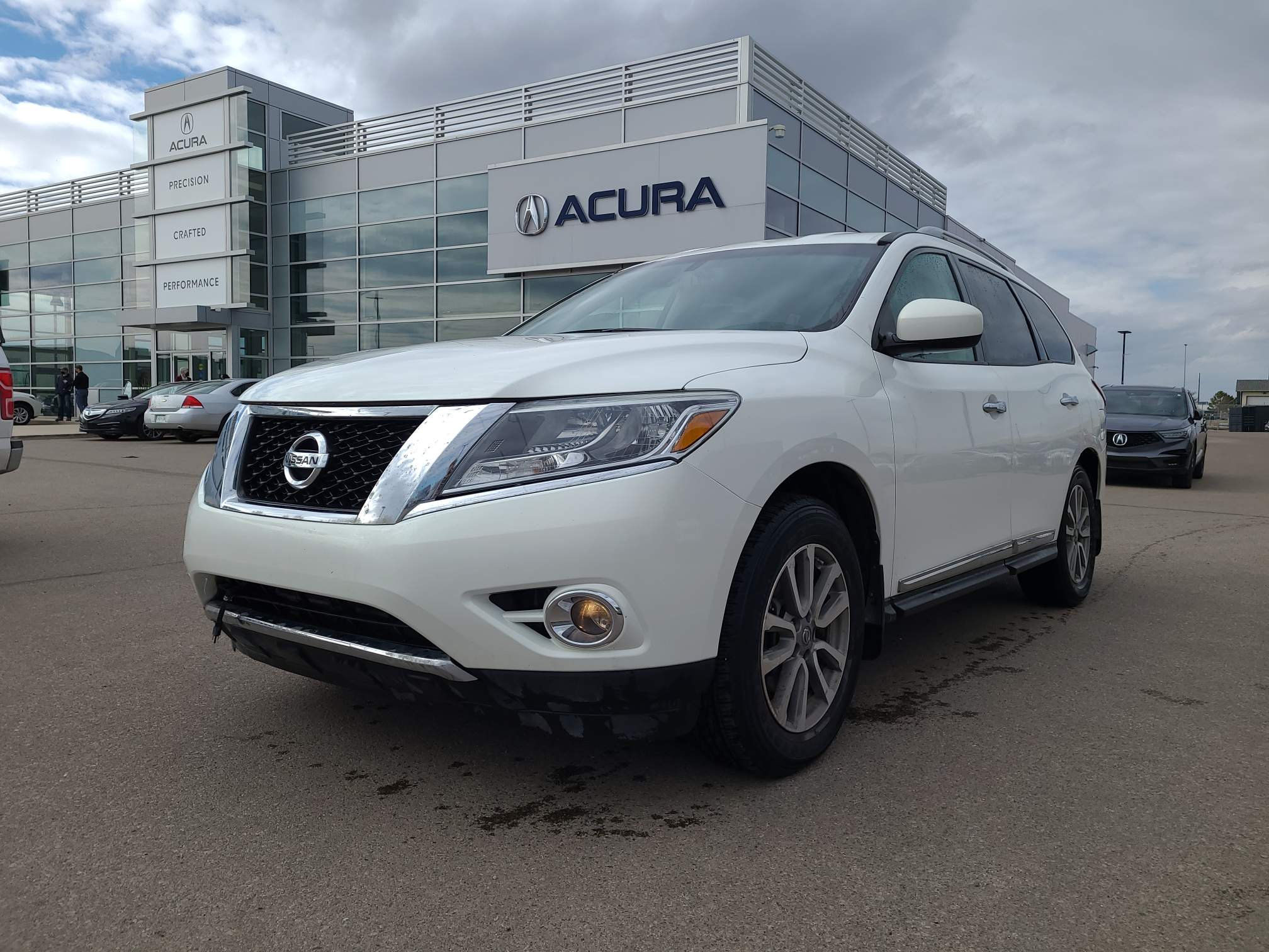 used 2014 Nissan Pathfinder car, priced at $19,852