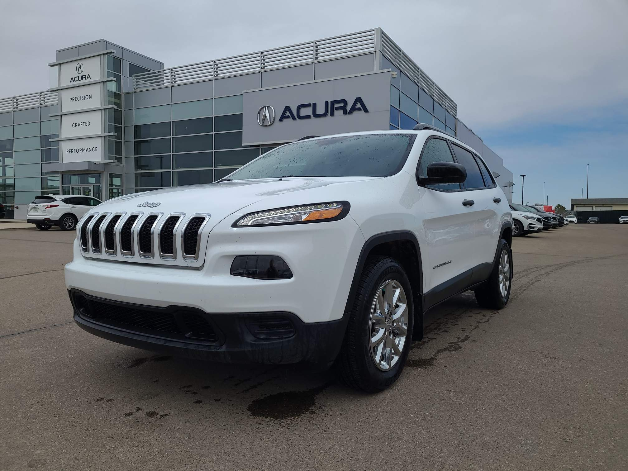 used 2018 Jeep Cherokee car, priced at $21,582